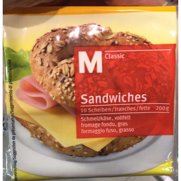 Fromage fondu Sandwich
