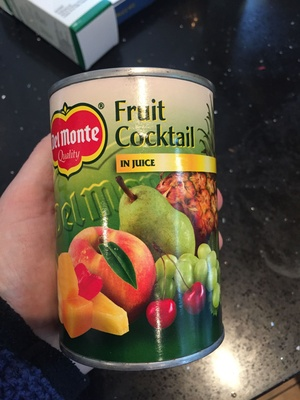 Fruit Cocktail in juice