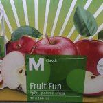 Fruit fun pomme