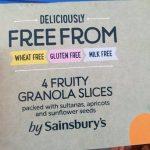 Fruity granola slices