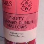 Fruity summer punch mallows
