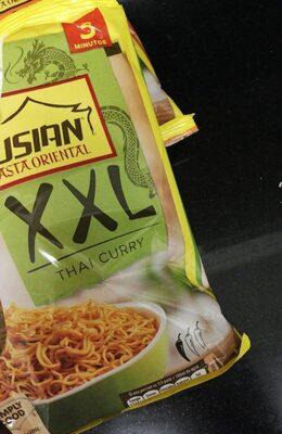 Fusian pasta oriental thai curry