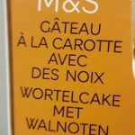 Gâteau à la Carotte avec des Noix