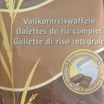 Galettes de Riz Complet Chocolat au Lait