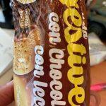 Galleta digestive con chocolate con leche