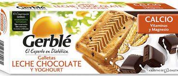 Galletas De Leche Chocolate Y Yoghourt