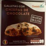 Galletas con chispas de chocolate Sweetwell