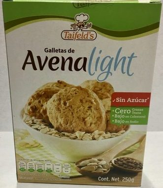 Galletas de Avena Light