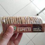 Galletas de espelta con pepitas de chocolate