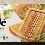 Galletas de soja y naranja