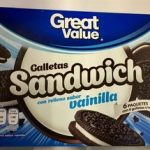 Galletas sándwich con relleno sabor vainilla