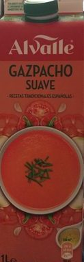 Gazpacho suave (sin pepino)