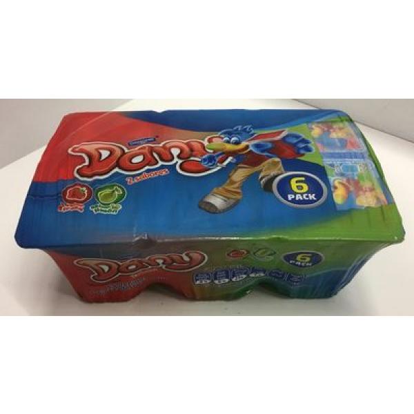 Gelatina Dany Dos sabores 6 pack Danone