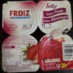 Gelatina sabor fresa