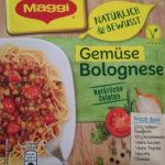 Gemuse Bolognese