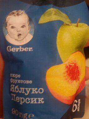 Gerber ябълка и праскова