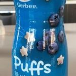 Gerber Graduates Puffs Blueberry Cereal Snack