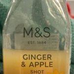 Ginger & Apple shot