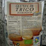 Gluten de trigo ecológico