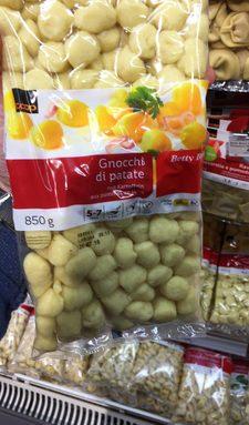 Gnocchi aux pommes de terre