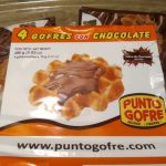 Gofres con chocolate
