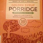 Golden Syrup flavored porridge