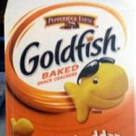Goldfish baked snack crackers Cheddar