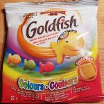 Goldfish couleurs cheddar