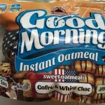 Good Morning Instant Oatmeal Gaufre chocolat blanc