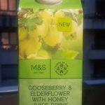 Gooseberry & Elderflower With Honey Juice Drink