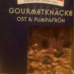 Gourmetknäcke Ost & Pumpa 200G