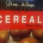 Grageas de chocolate con leche y cereales