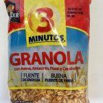 Granola 3 Minutos