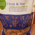 Granola clusters