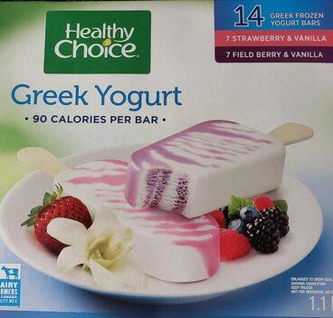 Greek Frozen Yogurt Bars