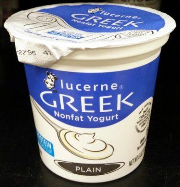 Greek Nonfat Yogurt