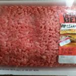 Ground beef (3lbs)