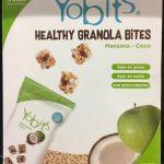 HEALTHY GRANOLA BiTES Manzana - coco