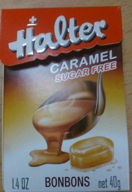 Halter Bonbons Caramel Sans Sucre
