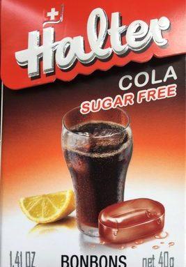 Halter Bonbons Cola Sugar Free