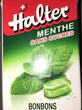 Halter Bonbons Mint Sugar Free
