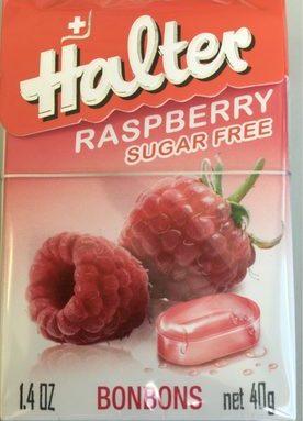 Halter Bonbons Raspberry Sugar Free