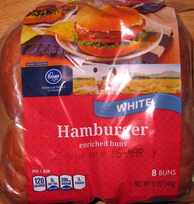 Hamburger enriched buns