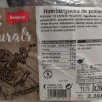 Hamburguesa de pollastre
