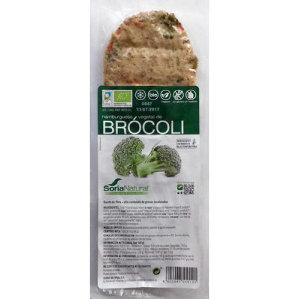 Hamburguesa vegetal de Brócoli
