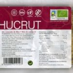 Hamburguesas vegetales Algas y chucrut