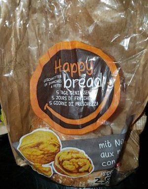Happy bread aux noix traité aux infrarouges
