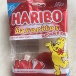 Haribo favoritos red & withe