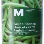 Haricots verts fins M-Classic