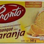 Harina preparada para elaborar panque sabor naranja